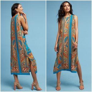 Akemi + Kin Tanvi Silk Column Dress size 14